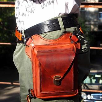 Сумка на пояс, поясная сумка, набедренная сумка