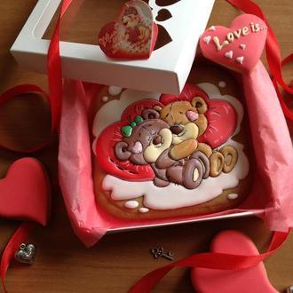 Пряниковий сувенір до Дня Закоханих! #2
