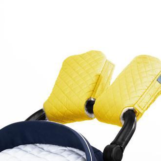 Муфта на коляску Желтая
