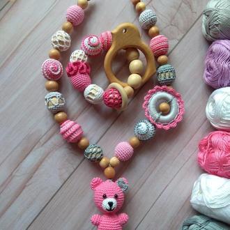 Слингобусы, мамабусы, вязаная игрушка, подарок малышу