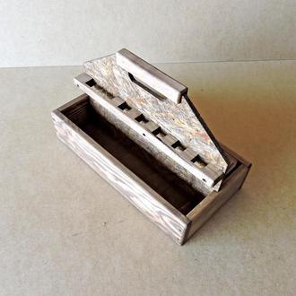 Ящик для инструментов Боруссия коричневый