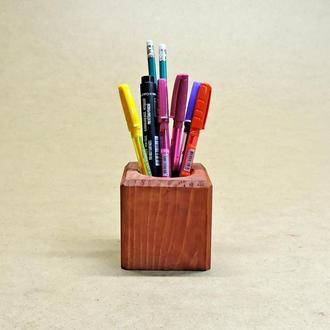 Подставка для ручек серия А коралл