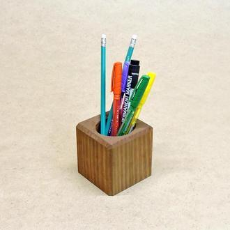 Подставка для ручек серия А шафран