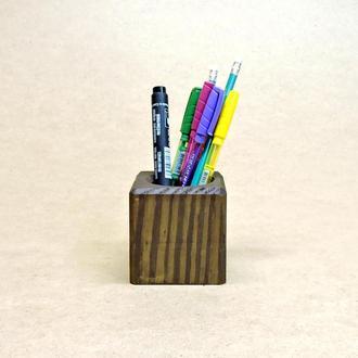 Подставка для ручек серия А капучино