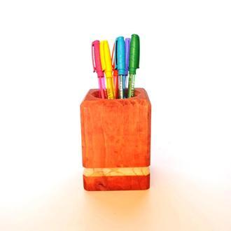 Подставка для ручек серия Б1 коралл