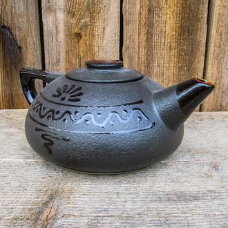 Чайник большой черный