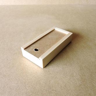 Пенал деревянный Ландыш 10х20х4см