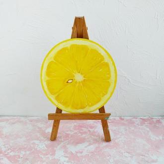 """Карина маслом. """"Сочный лимон"""" 🍋"""