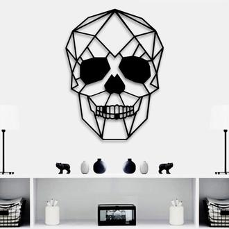 Деревянная картина Skull