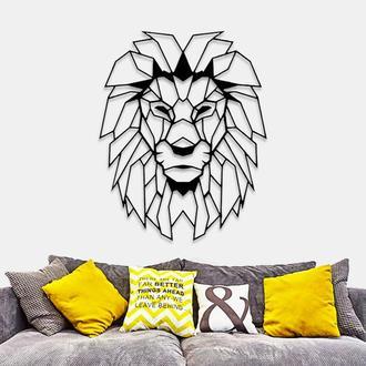 """Деревянная картина """"LION"""""""