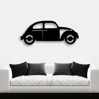Деревянная картина Car