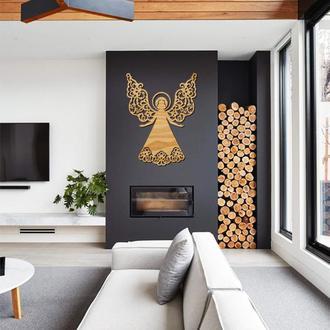 Деревянная картина Angel