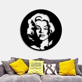 Деревянная картина Marilyn