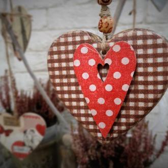 Сердечко интерьерное