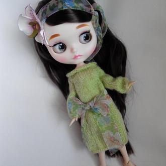 Платье для куклы Блайз, Айси