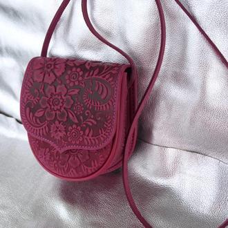 сумка шкіряна фукція Софійка