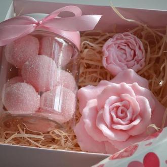 """Набор сувенирного мыла """"Розовые мечты"""""""