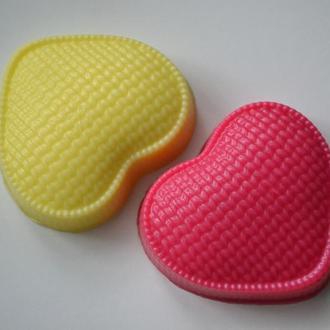 """Сувенирное мыло """"Вязанное сердце"""""""