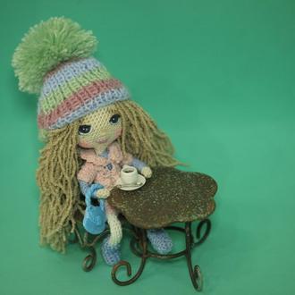 Кукла Таня с сумочкой