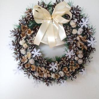 Новогодний Рождественский Венок