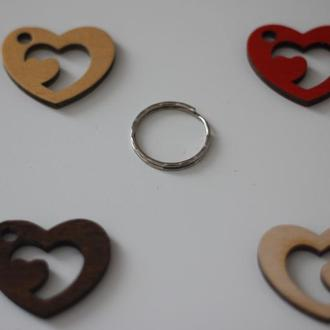 "Брелок Сердце с кольцом ""Love story""2"