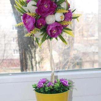 Топиарий цветочный