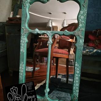 Дизайнерское зеркало в стиле прованс