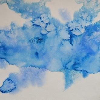 """ілюстрація """"Блакитний олень"""""""