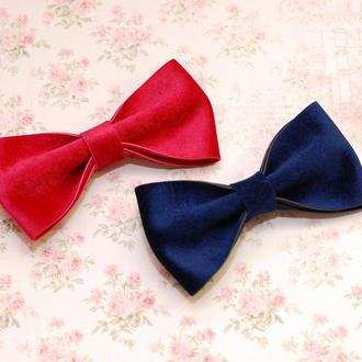 Стильный галстук-бабочка из вип бархата
