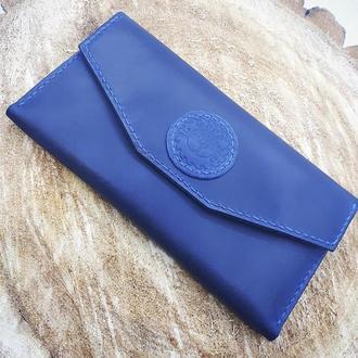 Кожаный женский кошелёк-клатч ′Lady′