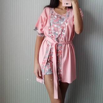 Пижама из трикотажа