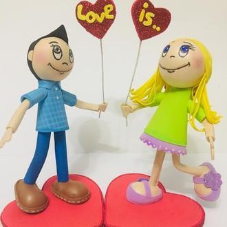 Влюбленная пара (День Святого Валентина)