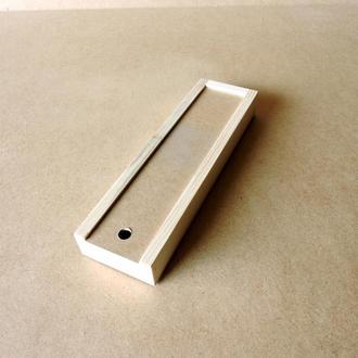 Пенал деревянный Ландыш 12х35х4см