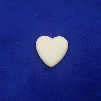 Заготовка для декорирования из гипса – Сердце