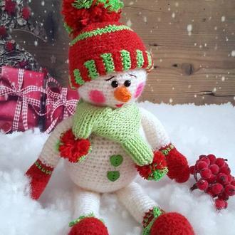 Снеговик, 40 см