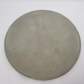 Заготовка для дизайна, декупажа, декорирования из бетона d-27 см.