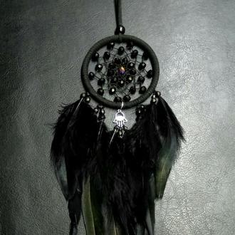 Ловец снов черный, замшевый!
