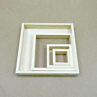 Лоток деревянный 10*15*4см (фанера)