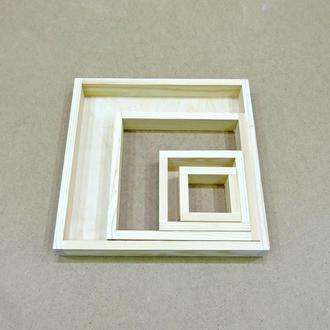 Лоток деревянный 10*35*4см (фанера)