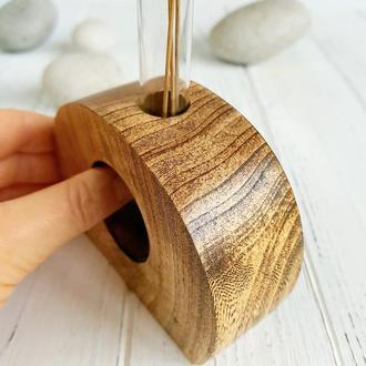 Ваза мини из массива дерева