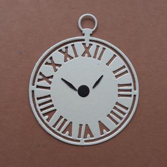 Картонная вырубка для творчества часы