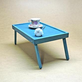 Столик-поднос для завтрака Орегон лазурь