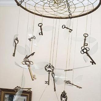 """Ловец снов """"Летающие ключи"""""""