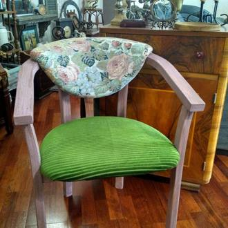 """Кресло деревянное в стиле бохо """"Цветочное настроение"""""""