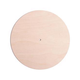 Заготовки для часов из фанеры - круг, диаметр 25 см