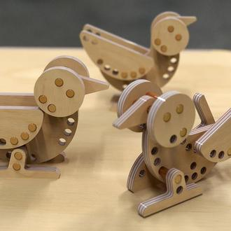 Детская развивающая игрушка- конструктор от Tshaped