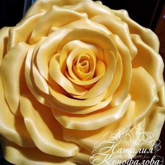 Шкатулка Роза желтая, изолон
