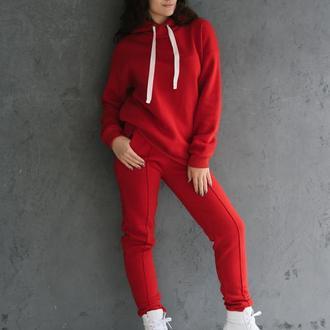 Костюм утепленный Красный