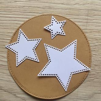 Вырубка из картона ′Праздничные звезды 1