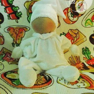Мягкая кукла, кукла-бабочка, первая кукла, сплюшка, вальдорфская
